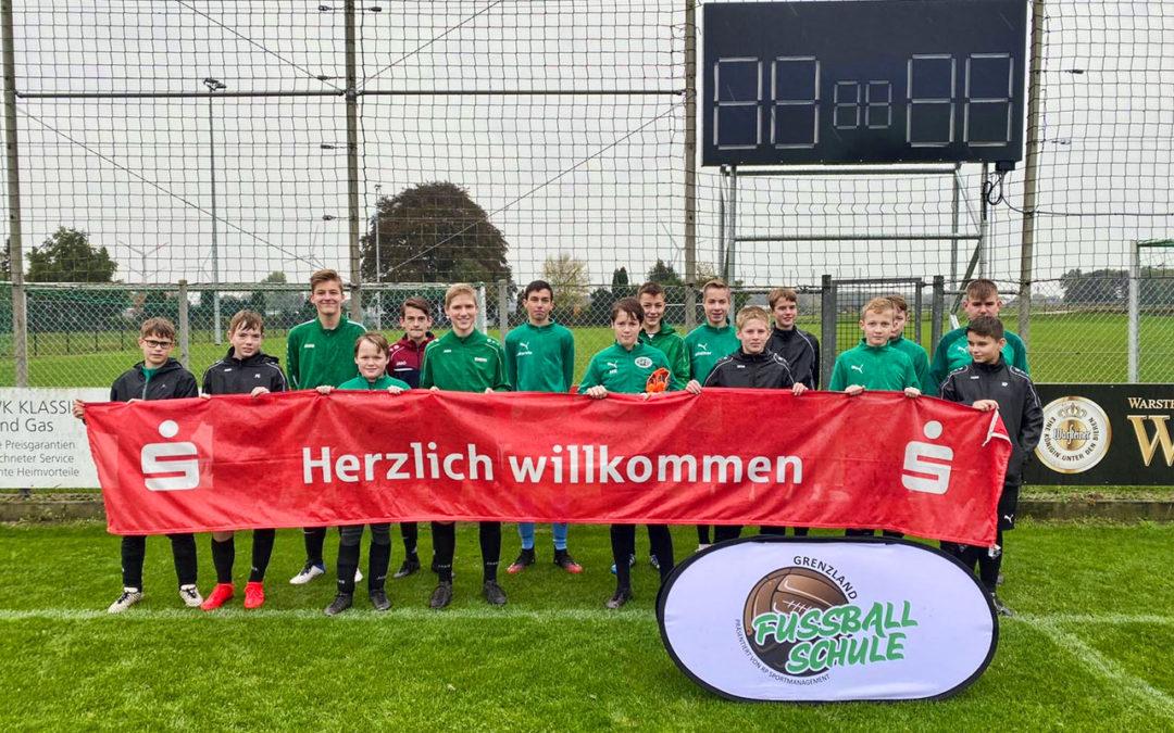 Herbst-Camp der Fussballschule Grenzland in Broekhuysen mit 45Kids