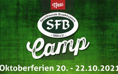 Anmeldung zum SFB Camp Herbstferien
